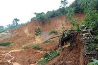 Hòa Bình: Mưa bão gây sạt lở đất làm 1 người chết, 3 người bị thương