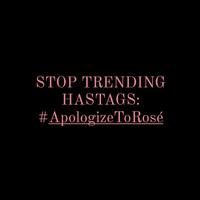 Drama chưa hồi kết giữa MCK và fan BLACKPINK, netizen đẩy hashtag #Apologizetorosé lên Top 1 Trending, cộng đồng quốc tế phẫn nộ!