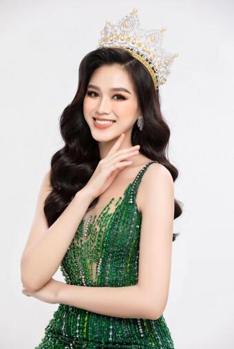 Hoa hậu Đỗ Thị Hà mang trang phục nữ tướng tới phần trình diễn múa ở Miss World 2021