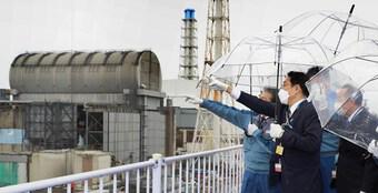 Tân Thủ tướng Nhật Bản thị sát nhà máy điện hạt nhân Fukushima
