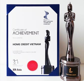 """Home Credit Việt Nam được vinh danh """"Nơi làm việc tốt nhất châu Á năm 2021"""""""