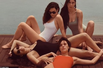Con gái của Demi Moore và Bruce Willis đẹp hút hồn trong MV mới