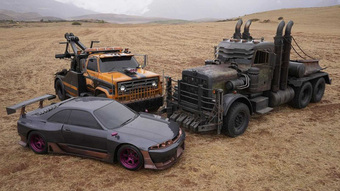 """Lóa mắt trước dàn siêu xe """"đỉnh của chóp"""" trong phần phim mới Transformers: Rise of the Beasts"""