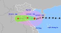 Bão số 8 suy yếu thành áp thấp nhiệt đới, Bắc và Bắc Trung Bộ mưa to