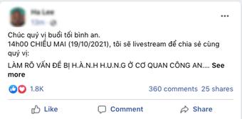 """Sau xác nhận không xô xát hành hung với nhóm ông Võ Hoàng Yên, bà Phương Hằng khẳng định sẽ có buổi trò chuyện """"làm rõ vấn đề"""""""