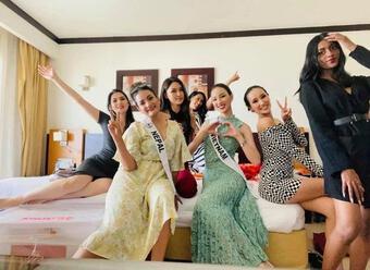 Bị nghi buôn lậu, Ái Nhi vẫn chiếm spotlight ở Miss Intercontinental
