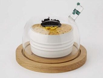 Kinh ngạc trước miếng bơ nặng 200g có giá gần 3 triệu đồng