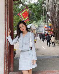 Học Chi Pu, Hà Tăng mix đồ chuẩn trend đi hẹn hò 20/10