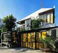 Ngôi nhà làm mặt tiền ''mỏng như lá lúa''