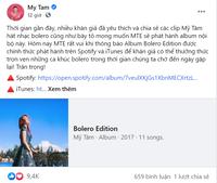 Fans cực 'sốc' khi Mỹ Tâm bất ngờ 'đánh úp' một album đặc biệt