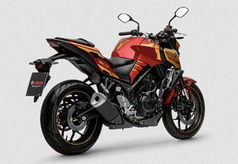 Ra mắt Yamaha MT-03 IRON MAN cho dân chơi hệ siêu anh hùng