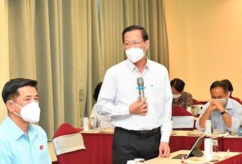 Ông Phan Văn Mãi giải trình việc tiếp công dân của Chủ tịch TP.HCM