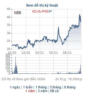 Năm Bảy Bảy (NBB) công bố ngày chốt danh sách cổ đông dùng 22 triệu cổ phiếu quỹ chia thưởng