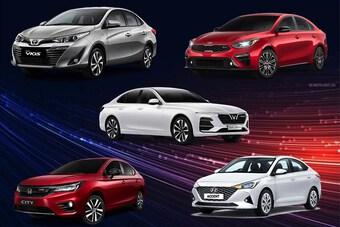 Những mẫu Sedan nhỏ gọn mà có giá bán vừa túi tiền dưới 500 triệu đồng