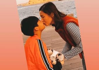 Hoa hậu Lý Gia Hân từng bị chê không biết giáo dục giới tính cho con nhưng ngẫm lại, cách dạy dỗ của cô cũng nhiều điều hay