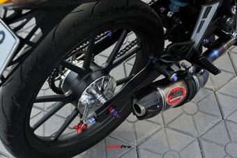 Yamaha Exciter độ hơn 170 triệu đồng của biker Việt: Có vật liệu tương tự siêu xe McLaren 720S Novitec N-Largo