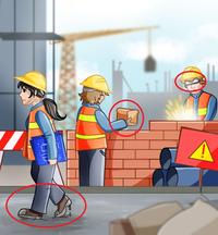 Truy tìm 3 lỗi sai trong bức tranh này: Hóc búa! Bạn có vượt qua thử thách?