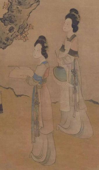 Bức tranh kỳ lạ vẽ người đàn ông đeo trâm hoa: Hiểu ra mới thấy chua xót làm sao!