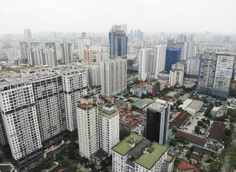 Giá căn hộ tăng, giá nhà ở riêng lẻ, đất nền lại giảm