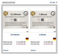 Đức bán đấu giá số bitcoin bị tịch thu với giá chiết khấu, người dân chen nhau mua để kiếm lời