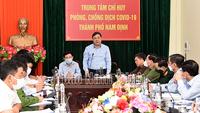 Nam Định bùng phát ổ dịch rất phức tạp, liên quan đến nhiều trường học, siêu thị, nhà hàng, doanh nghiệp,…