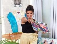 Triển lãm tranh về văn hóa con người Việt Nam của nữ họa sỹ Israel