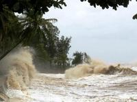 ATNĐ đi vào Khánh Hòa; cảnh báo mưa lớn, lũ quét, sạt lở đất, ngập lụt