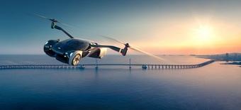 Hãng xe Trung Quốc giới thiệu ô tô bay