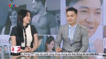 Phương Oanh - Mạnh Trường hội ngộ trước tập cuối Hương vị tình thân: Nói về hành động đút tay túi quần và kết phim