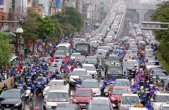 Hà Nội lập phương án thu phí xe vào nội đô