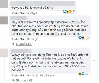 """Wowy muốn sang Mỹ gặp """"ông trùm kim hoàn"""" Johnny Dang, netizen mỉa mai: """"Lại chuẩn bị có bản ''rap nịnh'' mới rồi!"""""""