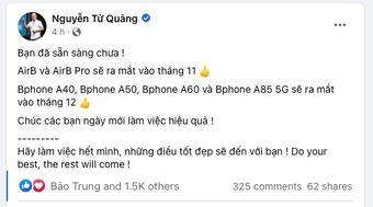 """Bị nói """"Chủ tịch rảnh quá"""", CEO Bkav Nguyễn Tử Quảng đáp lời"""