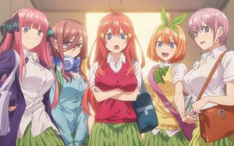 Siêu phẩm anime Nhà Có 5 Nàng Dâu hé lộ hình ảnh cực kỳ bắt mắt, hẹn khán giả vào đầu năm sau