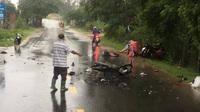 Tai nạn kinh hoàng giữa 3 xe máy khiến 3 người chết, 2 nạn nhân bị thương