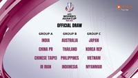 """Nóng: Việt Nam nằm bảng """"tử thần"""" cùng Nhật Bản, Hàn Quốc ở VCK giải châu Á"""