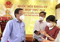 Chủ tịch Phan Văn Mãi nói về bán ăn tại chỗ, mở lại trường học...