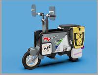 Tròn mắt với Tatamel Bike - xe máy điện có thể gập gọn, toát mùi tiền