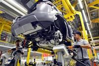 Sản lượng ôtô của Anh giảm xuống mức thấp nhất trong gần 4 thập kỷ