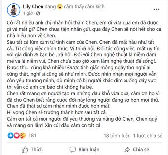 """Trả lời về scandal chung bồ tỷ phú với Ngọc Trinh, Lily Chen: """"Tôi đã mất hầu như tất cả"""""""