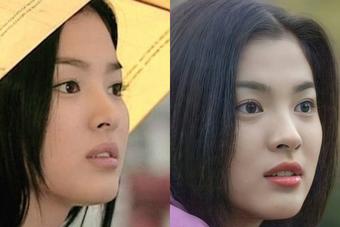 """Vì sao Song Hye Kyo được tôn là đại mỹ nhân? Nhìn chùm ảnh 2 thập kỷ góc nghiêng bất biến và bộ phận """"chấp"""" ảnh nhòe này đi!"""